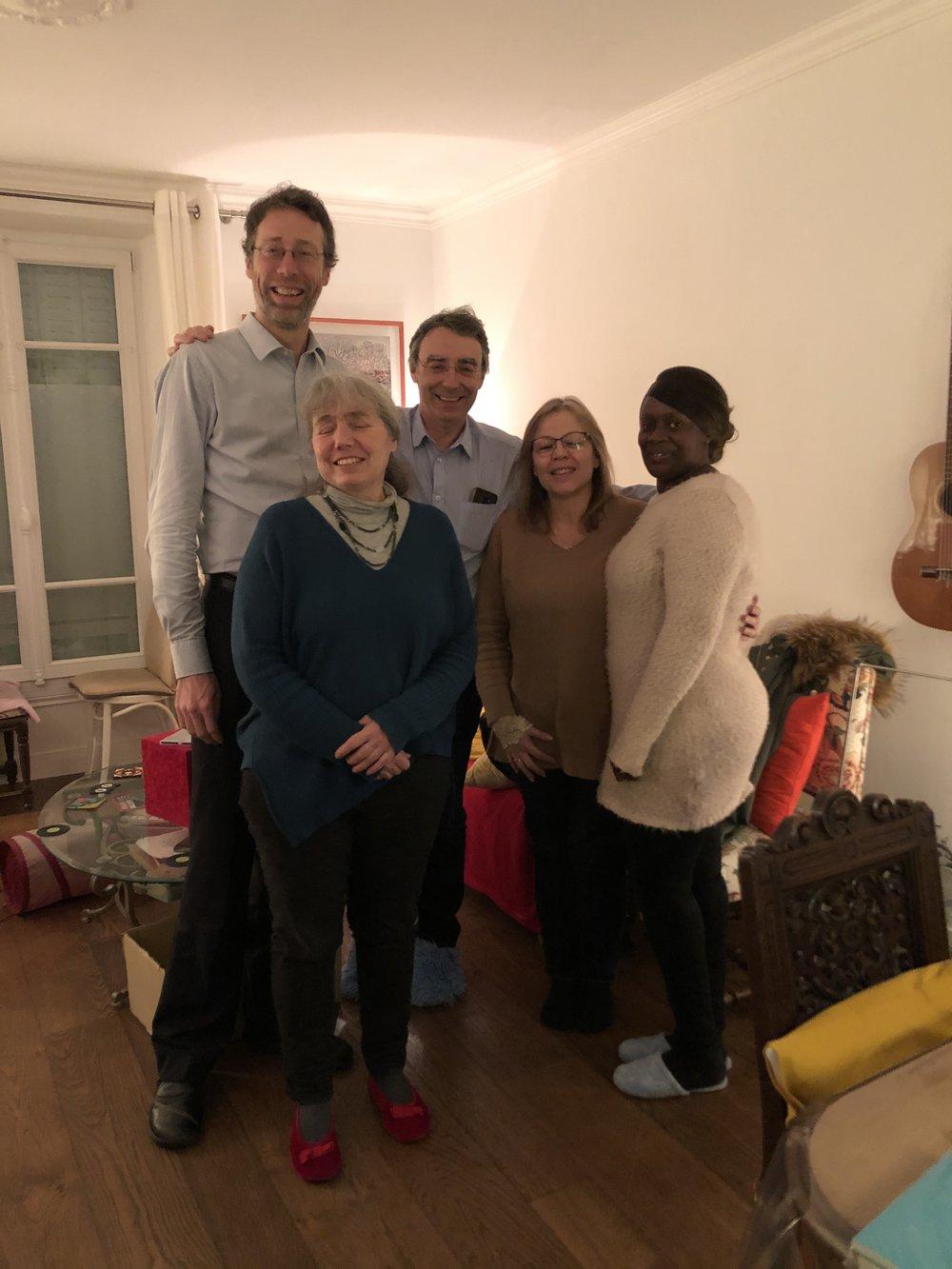 Liste Fontenay avec vous: Pascal Buchet, Françoise Letang, Amy Coly.